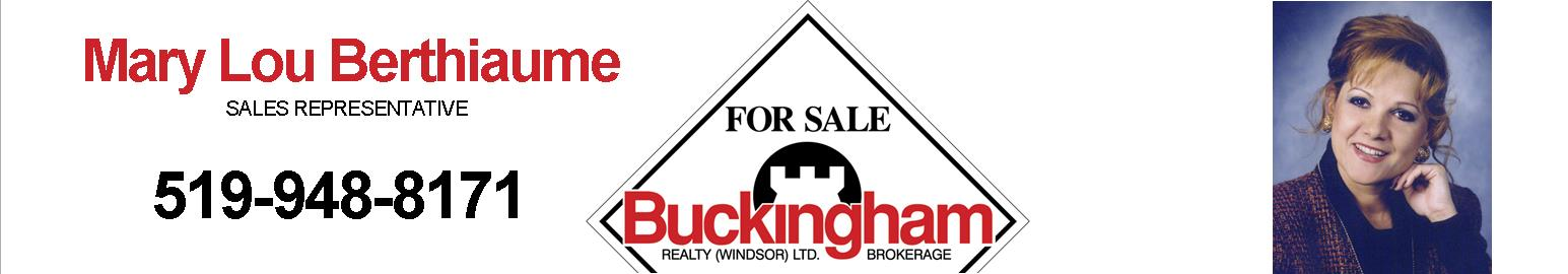 Mary Lou Berthiaume, Buckingham Realty
